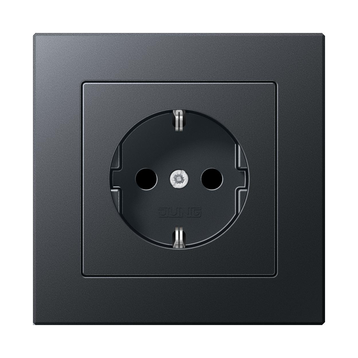 JUNG_AC_anthracite_socket