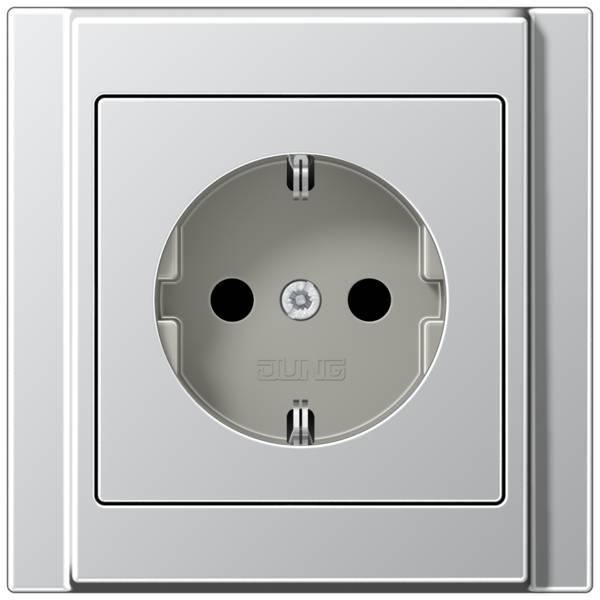 JUNG_A500_aluminium_socket
