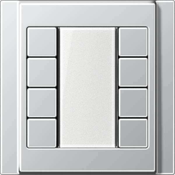 JUNG_A500_aluminium_transparent_F50_4-gang