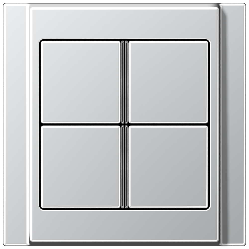 JUNG_A500_aluminium_4button