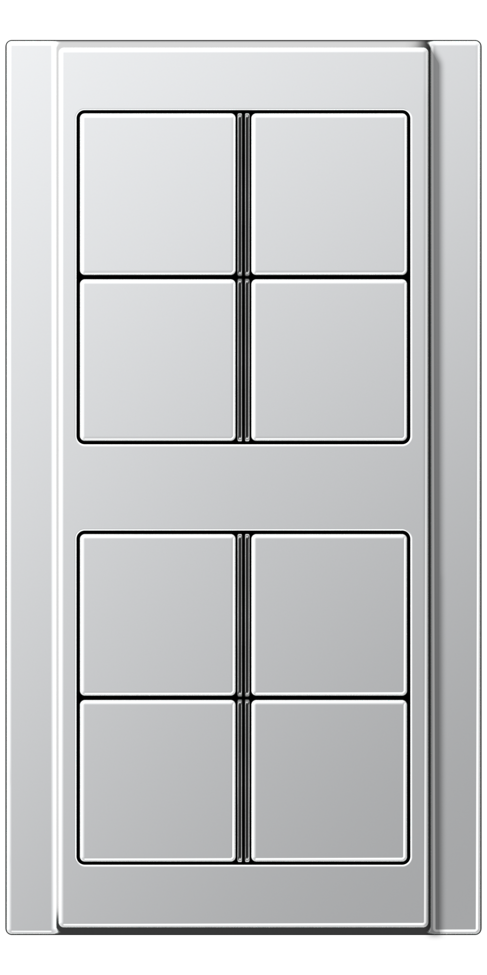 JUNG_A500_aluminium_8button