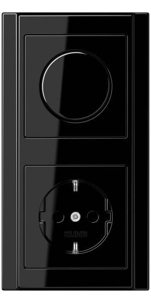 JUNG_A500_black_dimmer-socket