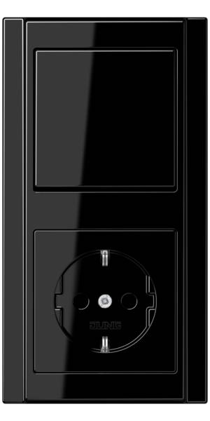 JUNG_A500_black_switch-socket