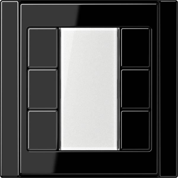 JUNG_A500_black_transparent_F50_3-gang
