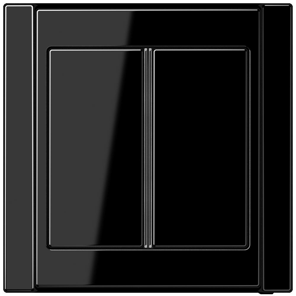 JUNG_A500_black_2button