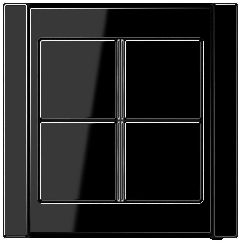 JUNG_A500_black_4button