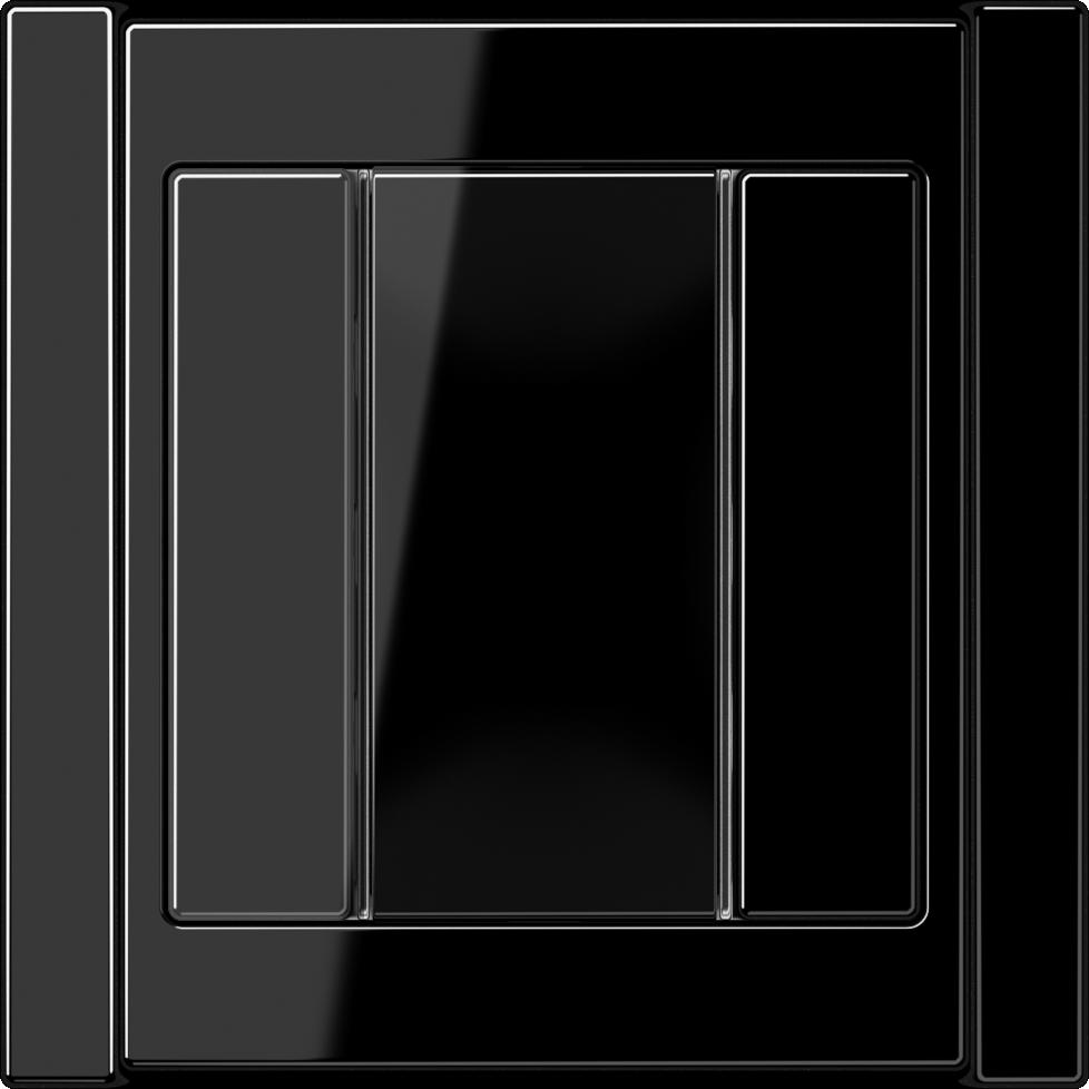 JUNG_A500_black_coloured_F50_1-gang