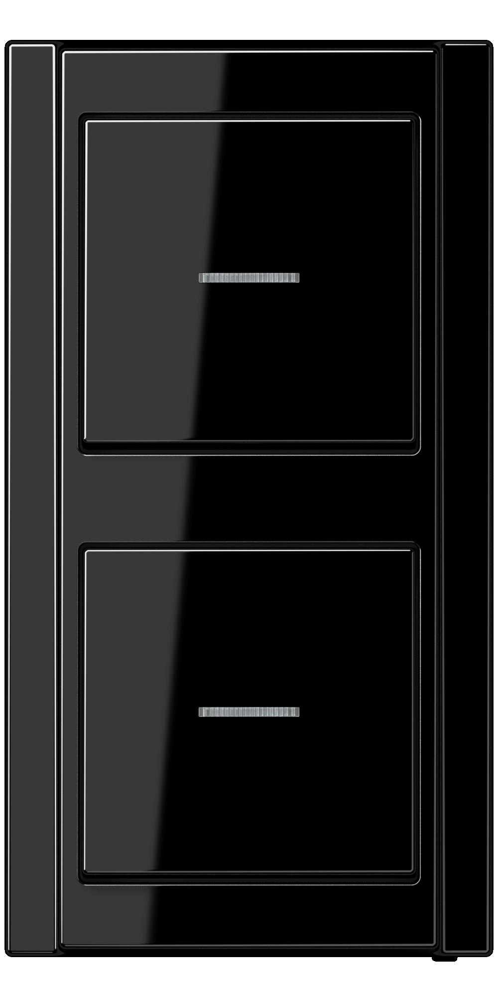 JUNG_A500_black_switch-lense_switch-lense