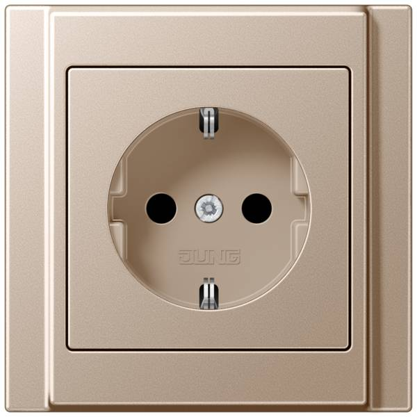 JUNG_A500_champagne_socket