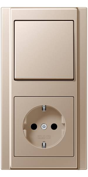 JUNG_A500_champagne_switch-socket
