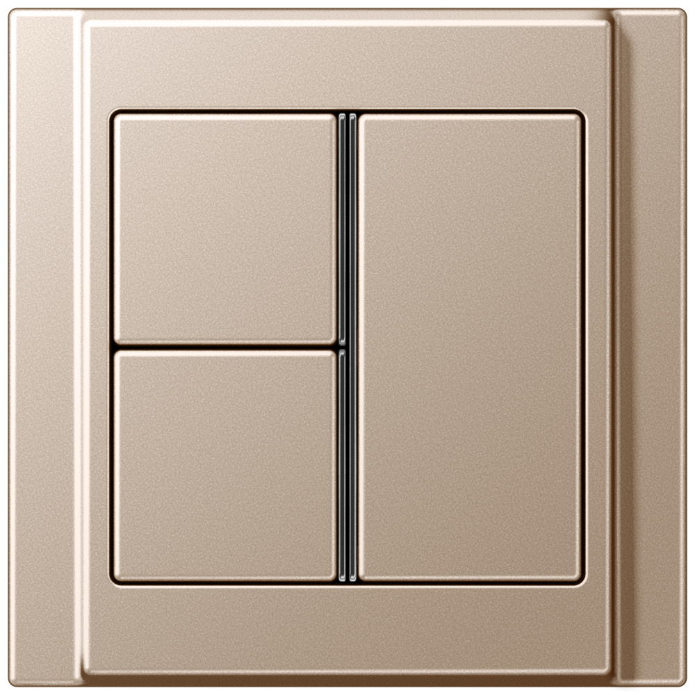 JUNG_A500_champagne_3button