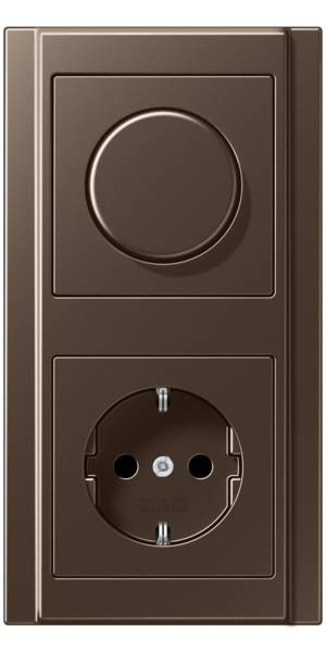 JUNG_A500_mocha_dimmer-socket