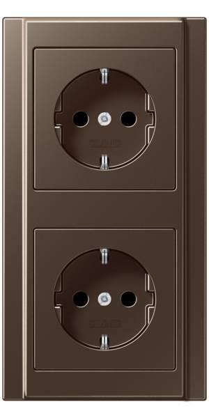 JUNG_A500_mocha_socket-socket