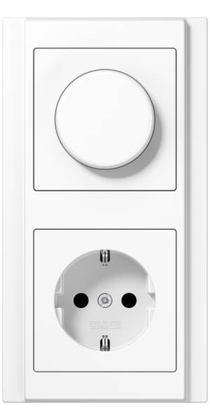 JUNG_A500_white_dimmer-socket