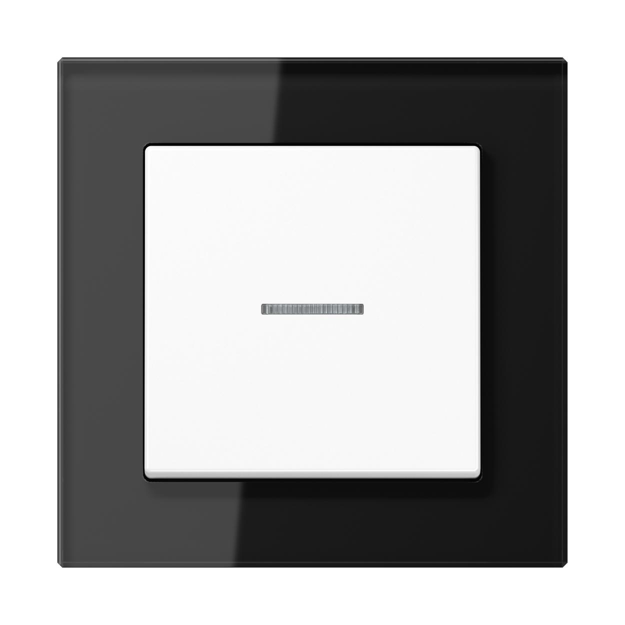 JUNG_AC_GL_black_switch-lense