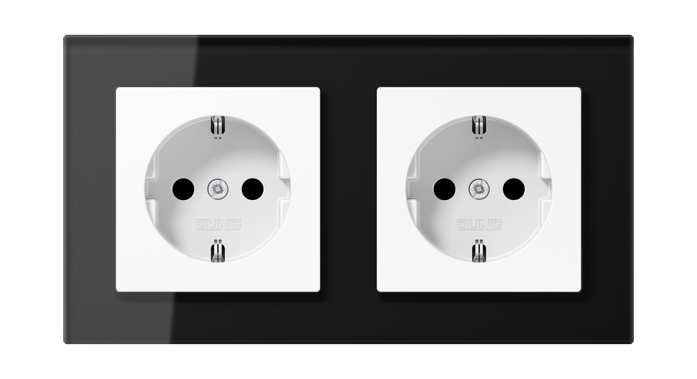 JUNG_AC_GL_black_white_socket-socket_H