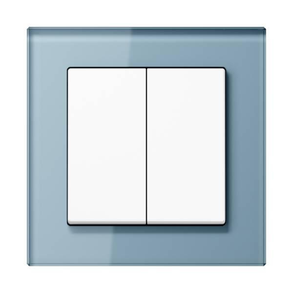 JUNG_AC_GL_blue-grey_2-gang-switch