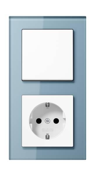 JUNG_AC_GL_blue-grey_switch-socket