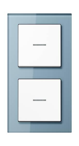 JUNG_AC_GL_blue-grey_white_switch-lense_switch-lense