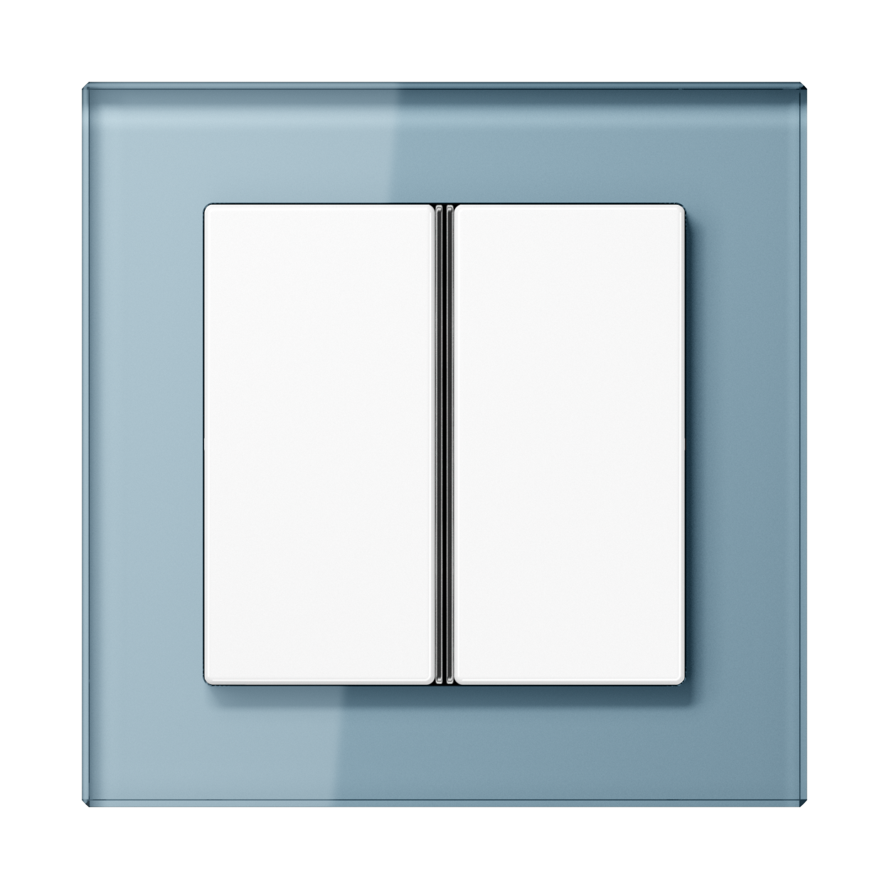 JUNG_AC_GL_blue-grey_2button