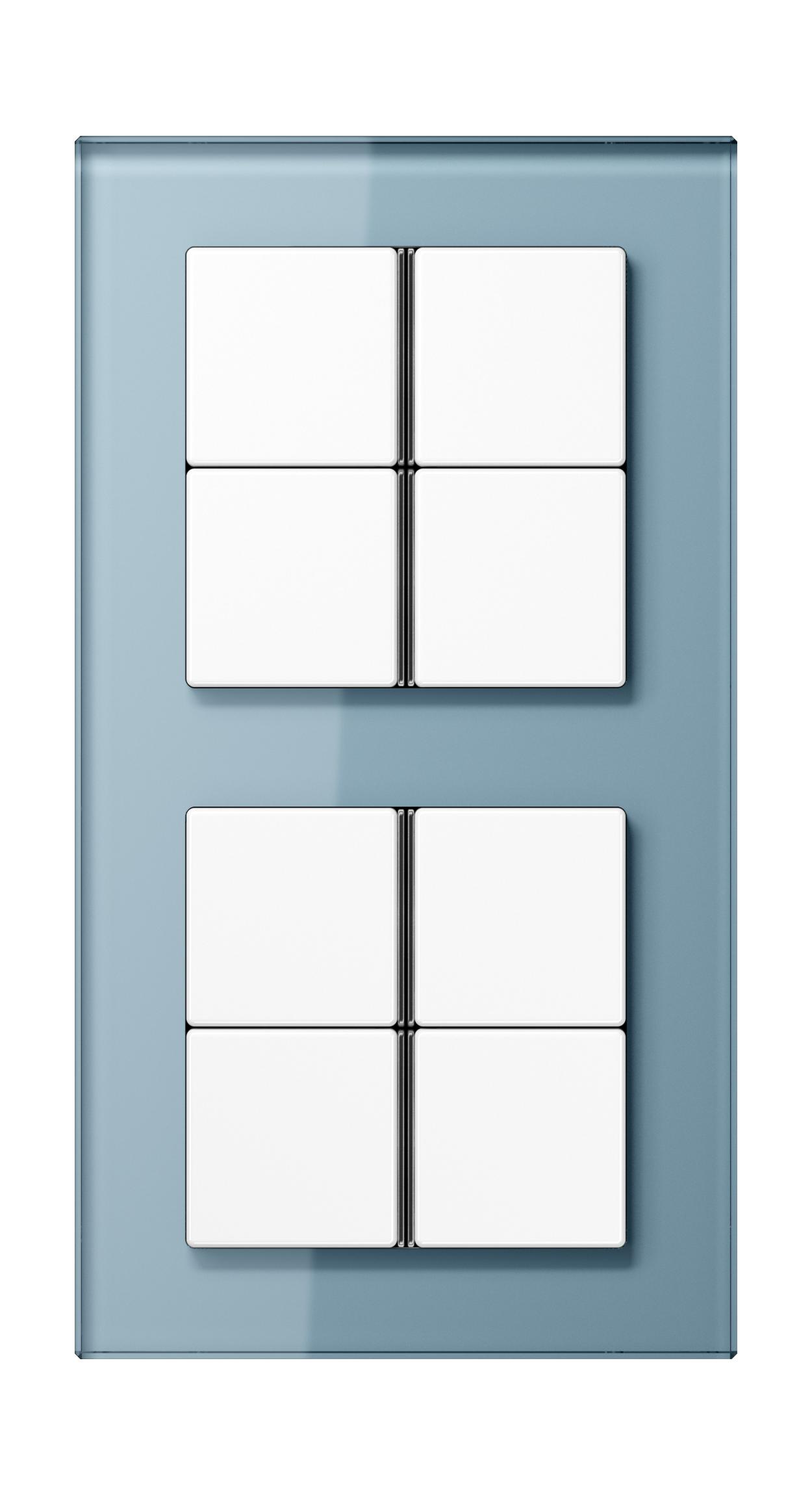 JUNG_AC_GL_blue-grey_8button