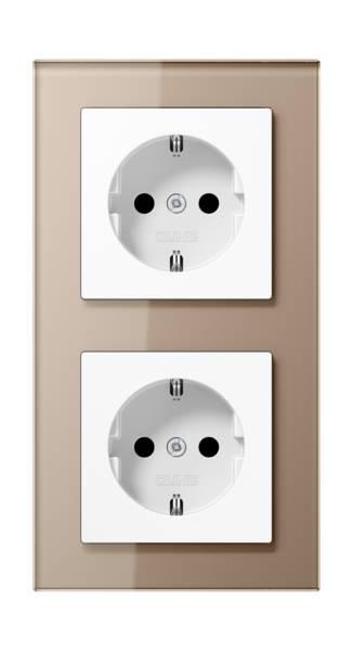 JUNG_AC_GL_champagne_socket-socket