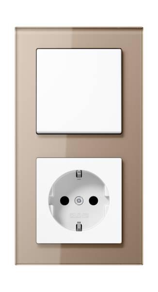JUNG_AC_GL_champagne_switch-socket