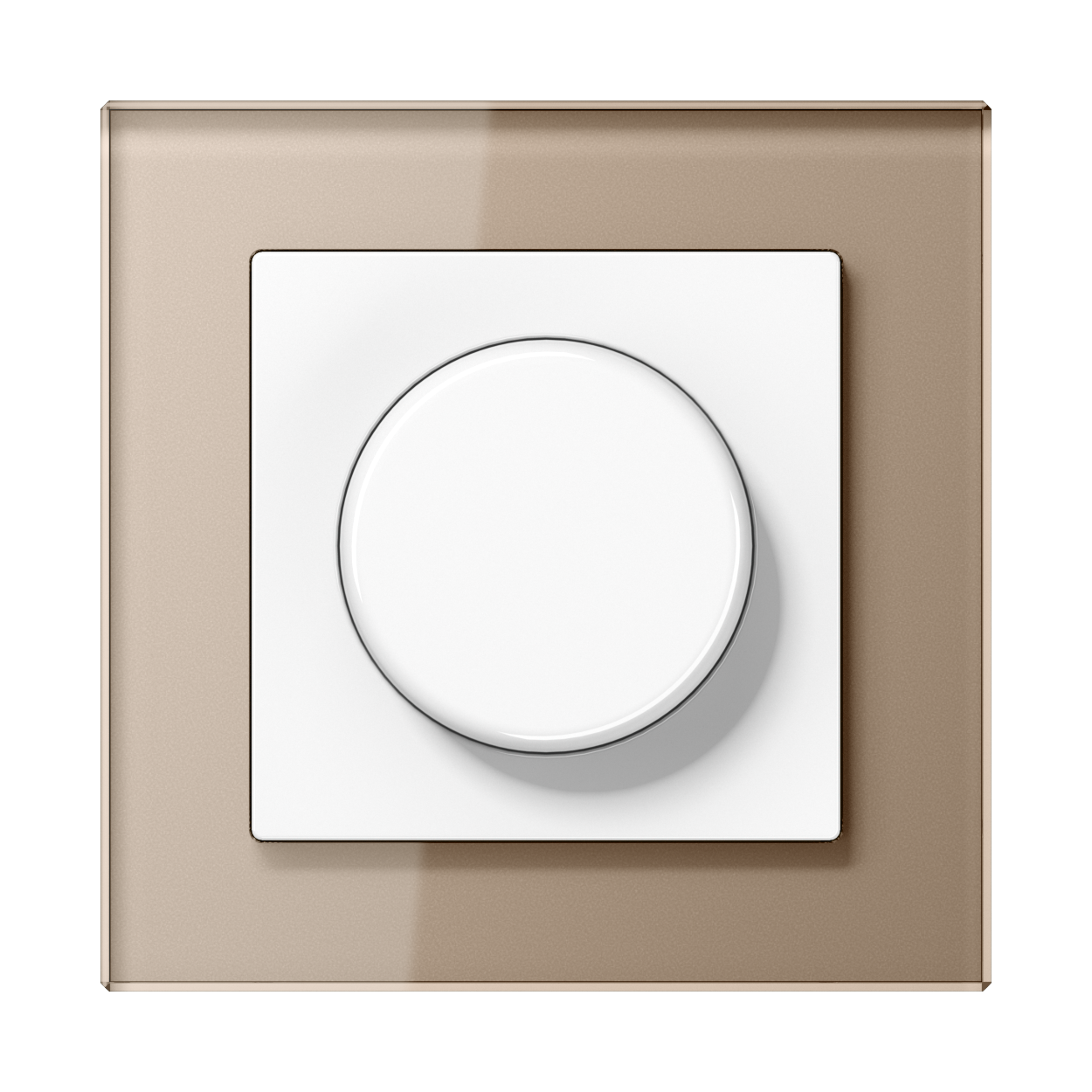 JUNG_AC_GL_champagne_dimmer
