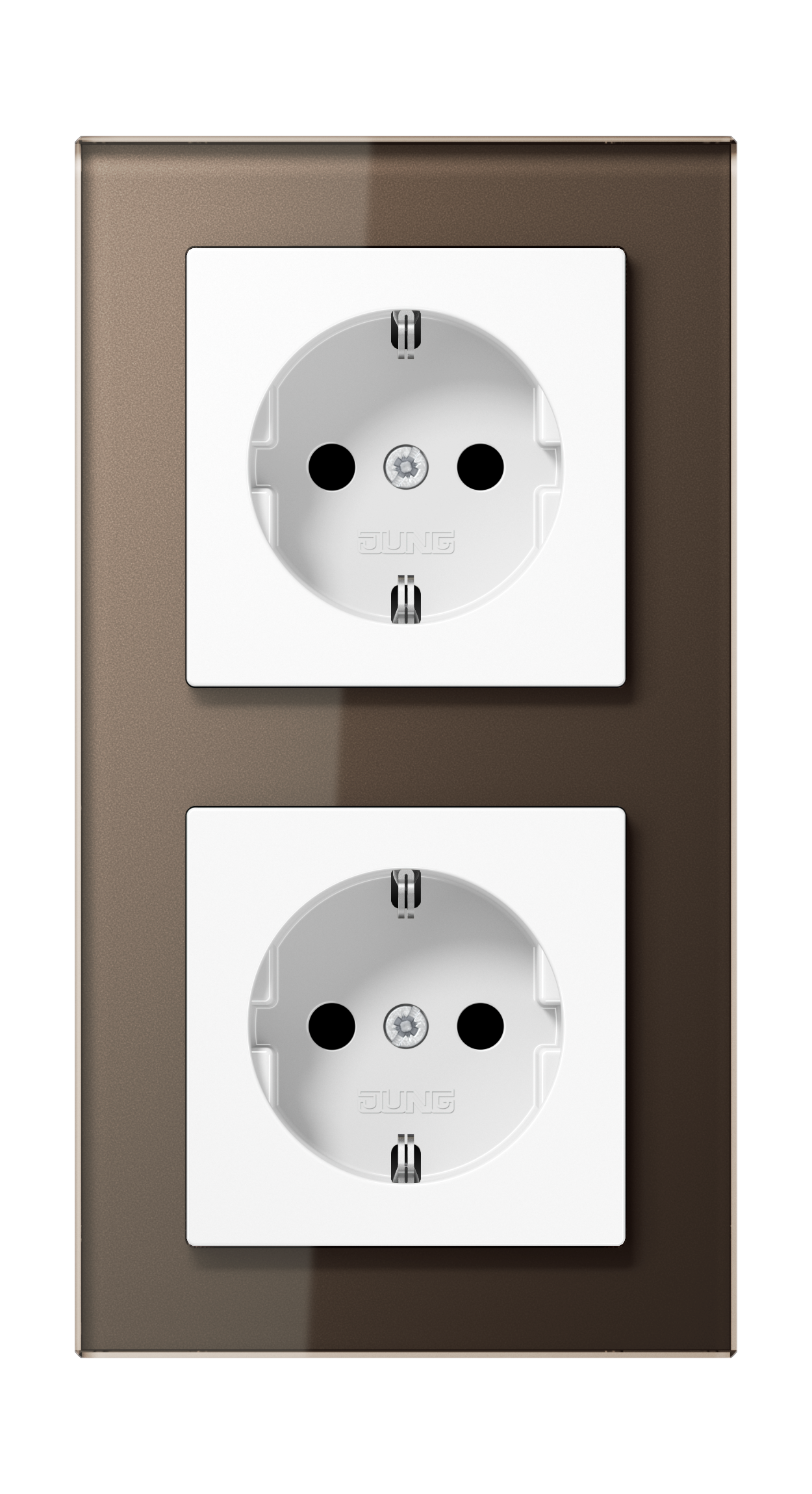 JUNG_AC_GL_mocha_socket-socket