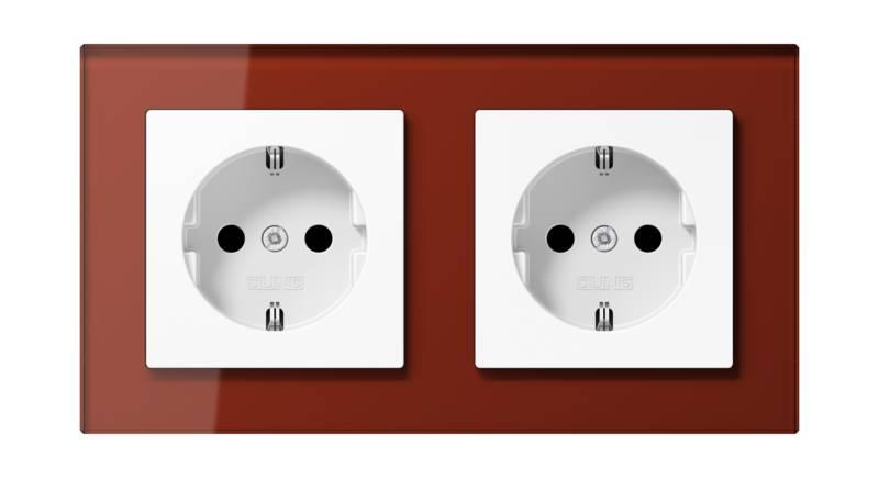 JUNG_AC_GL_red_white_socket-socket_H