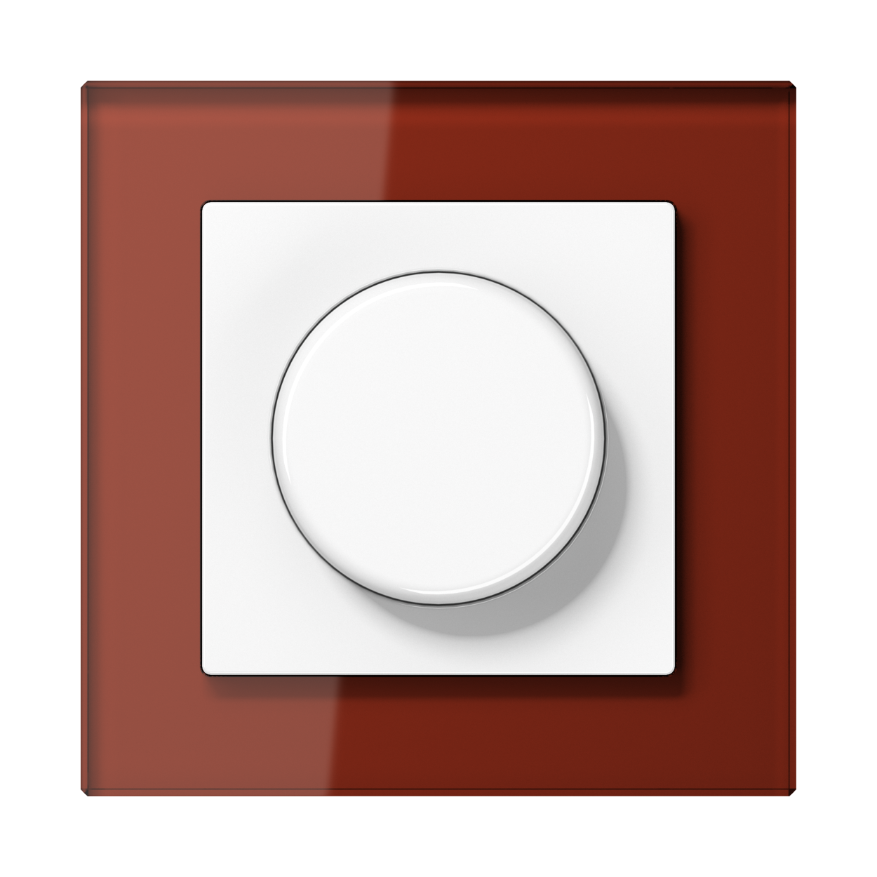 JUNG_AC_GL_red_dimmer