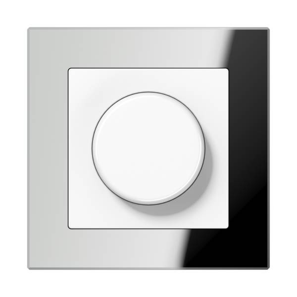 JUNG_AC_GL_silver_dimmer