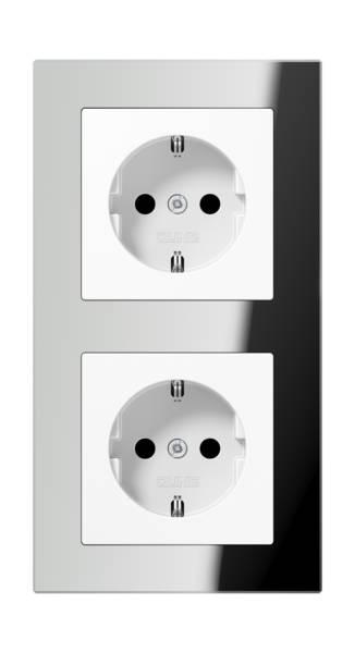 JUNG_AC_GL_silver_socket-socket