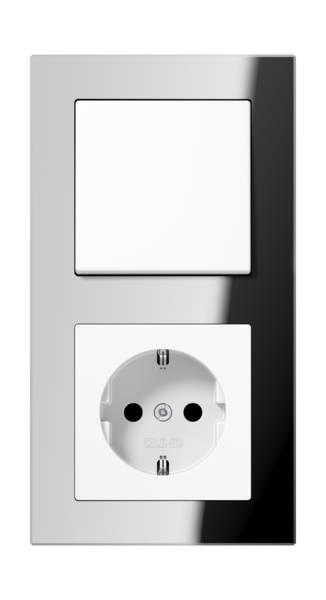 JUNG_AC_GL_silver_switch-socket