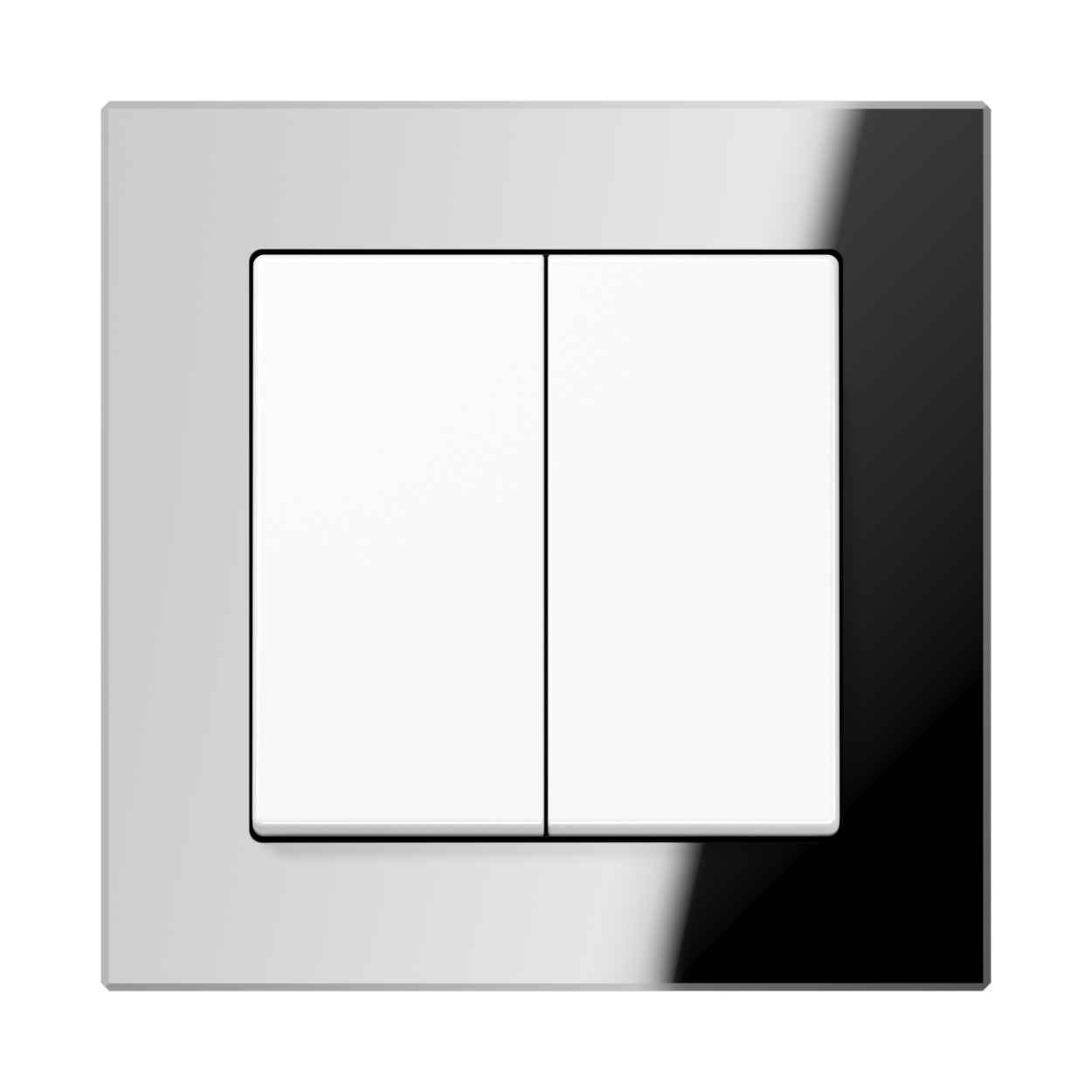 JUNG_AC_GL_silver_2-gang-switch