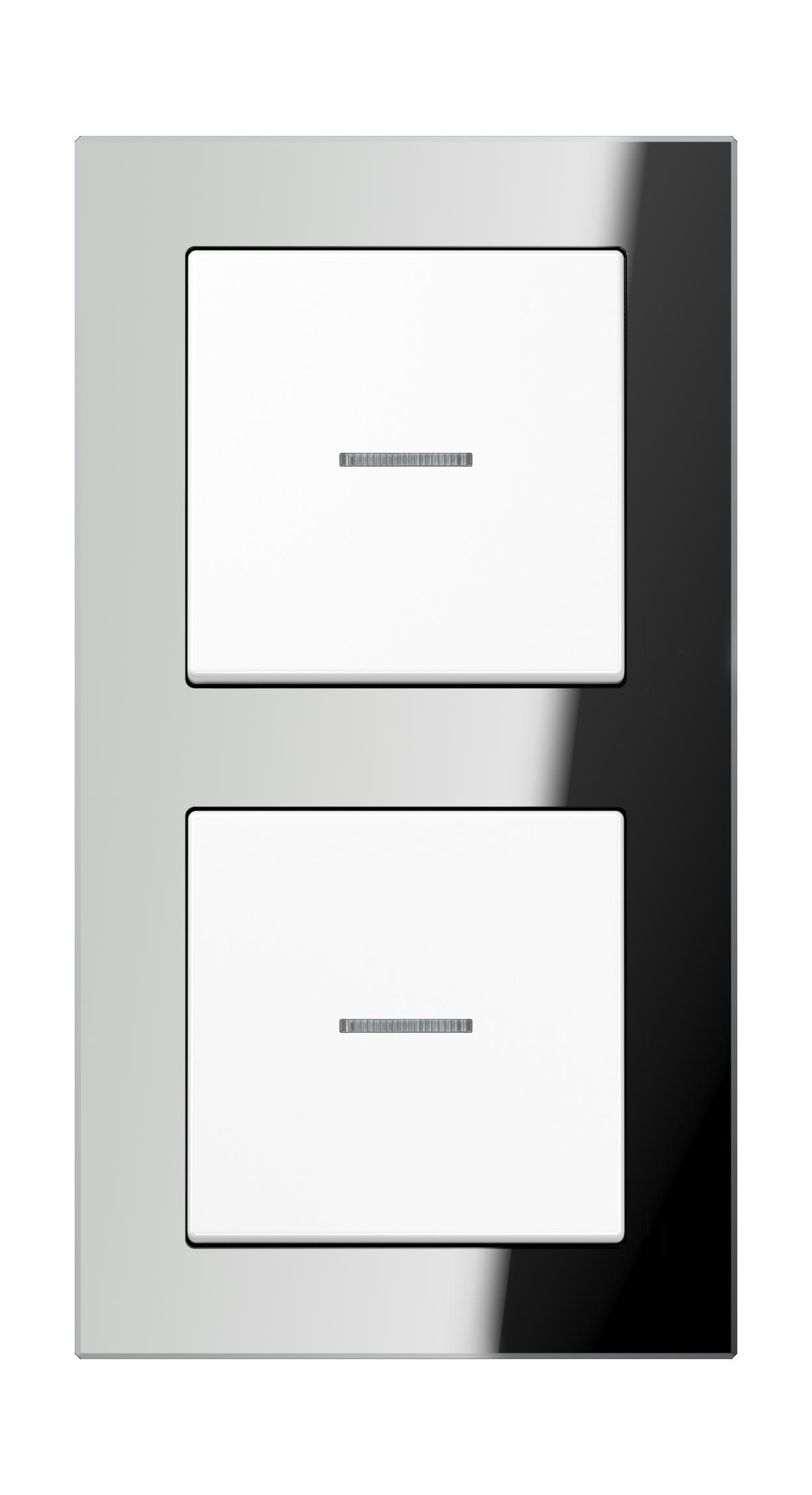 JUNG_AC_GL_silver_white_switch-lense_switch-lense