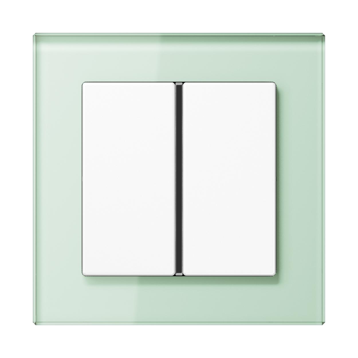 JUNG_AC_GL_soft-white_1button