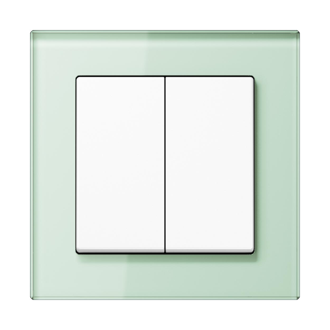JUNG_AC_GL_soft-white_2-gang-switch