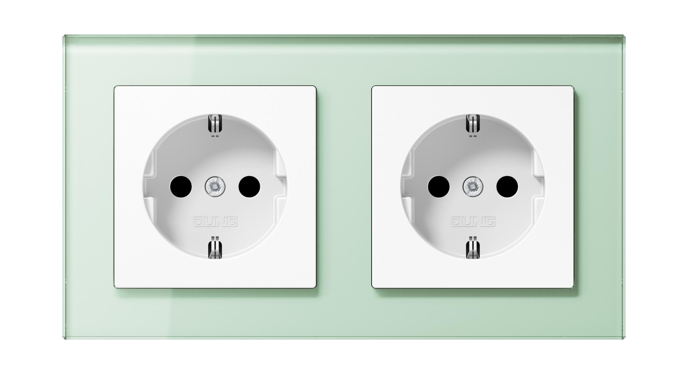 JUNG_AC_GL_soft-white_white_socket-socket_H