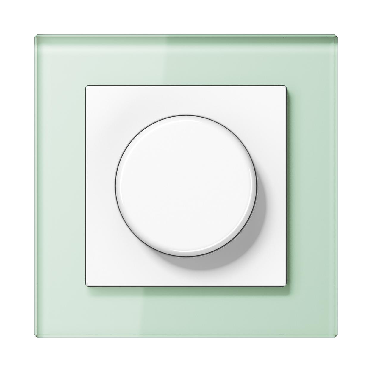 JUNG_AC_GL_soft_white_dimmer