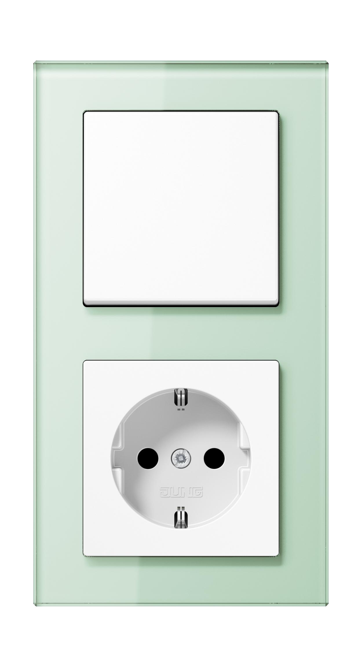 JUNG_AC_GL_soft_white_switch-socket