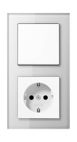 JUNG_AC_GL_white_switch-socket