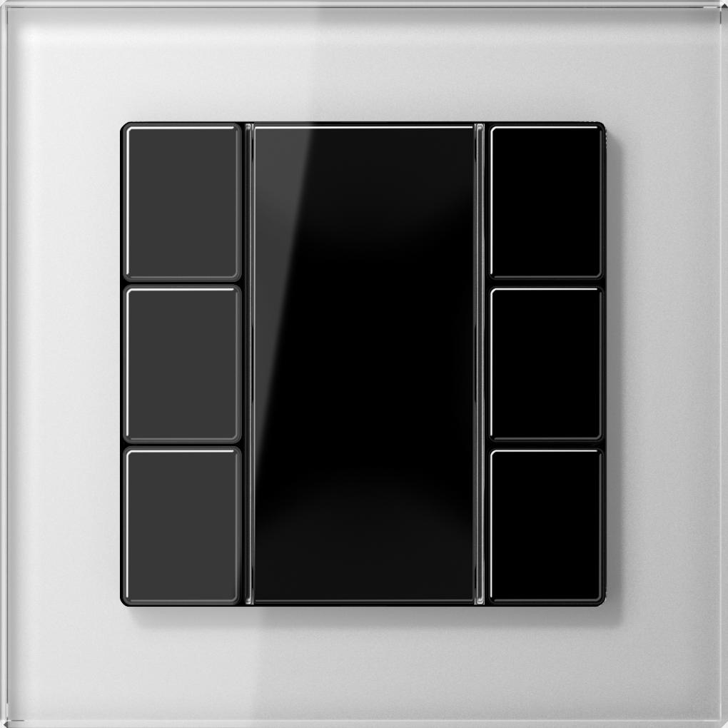 JUNG_AC_GL_white_coloured_F50_3-gang