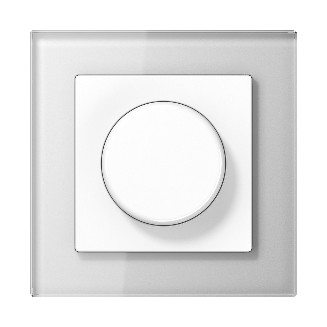JUNG_AC_GL_white_dimmer