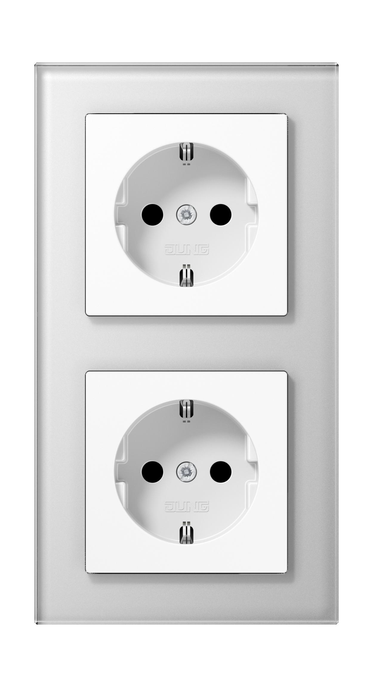 JUNG_AC_GL_white_socket-socket