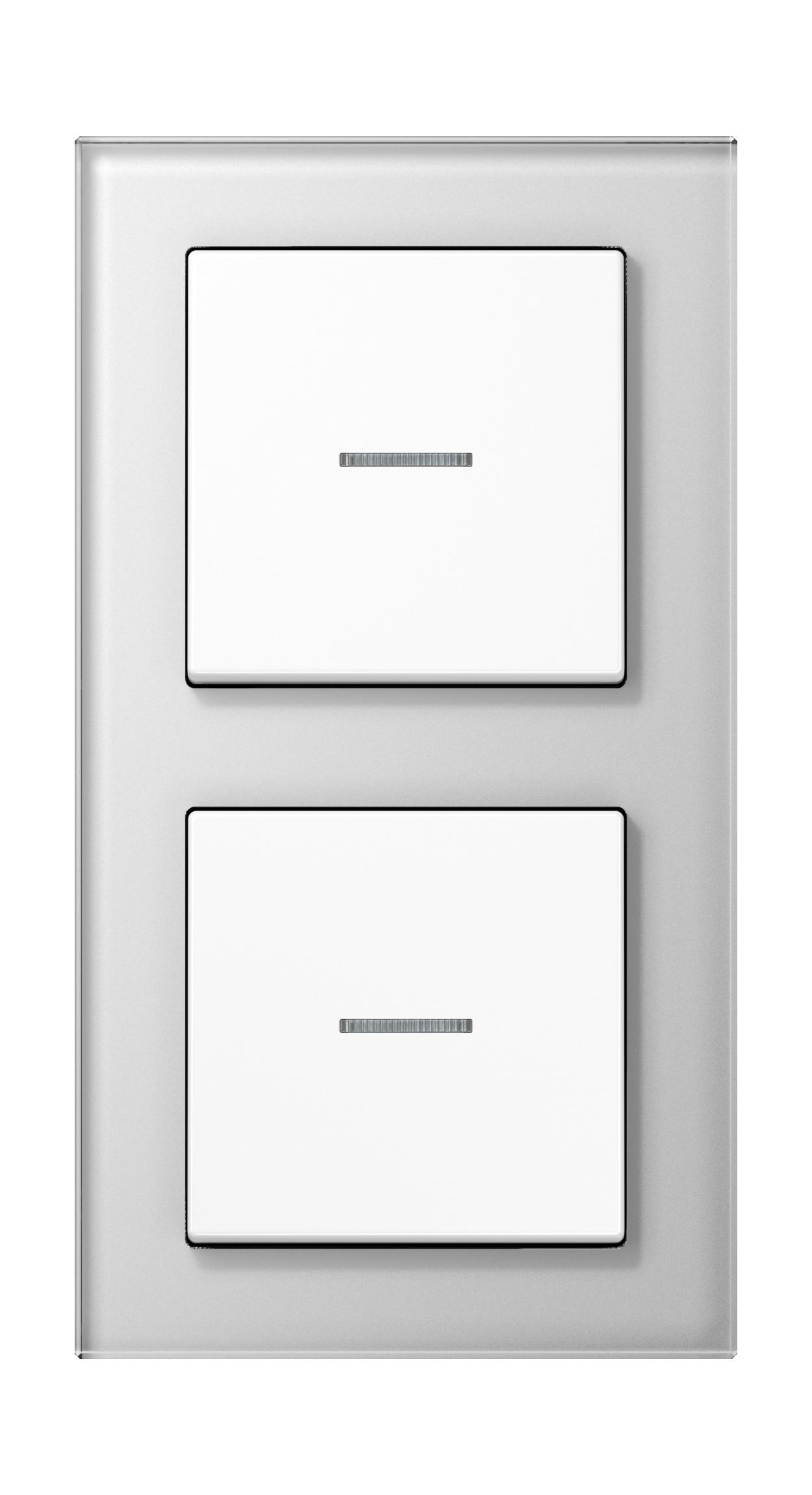 JUNG_AC_GL_white_switch-lense_switch-lense