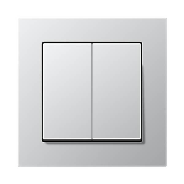 JUNG_AC_aluminium_2-gang-switch