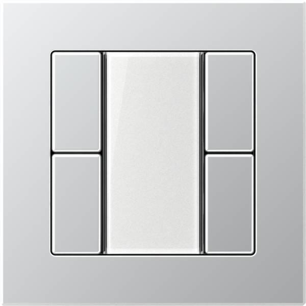 JUNG_AC_aluminium_transparent_F50_2-gang