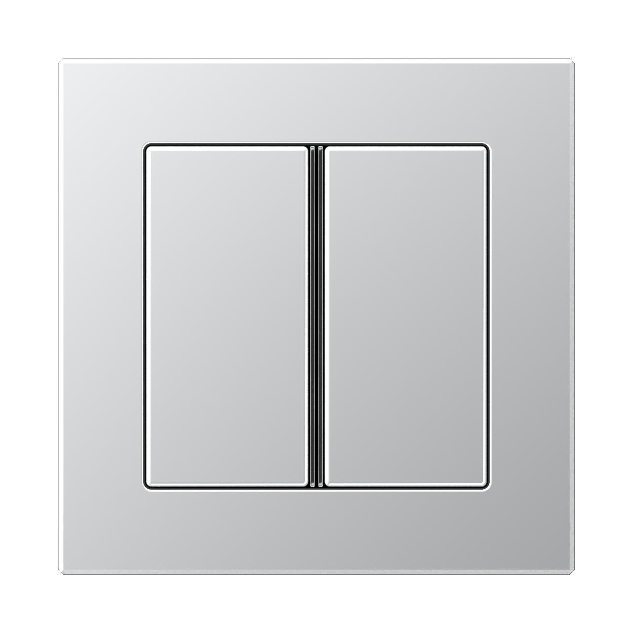 JUNG_AC_aluminium_2button