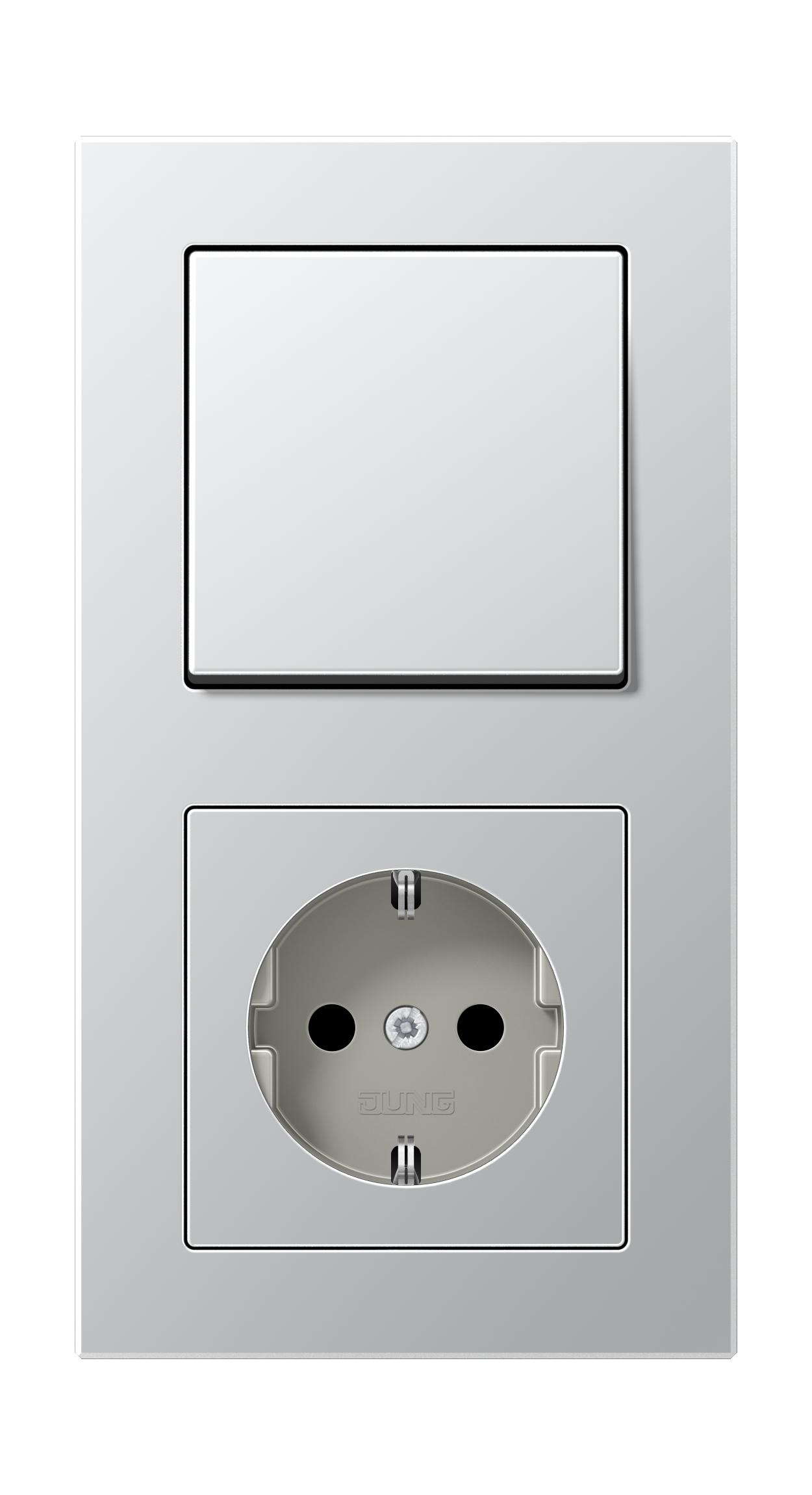 JUNG_AC_aluminium_switch-socket
